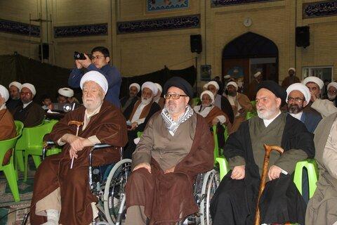 تصاویر/ اولین همایش رزمندگان روحانی، ایثارگر و آزاده استان قزوین