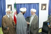 تصاویر/ آئین معارفه قائم مقام مرکز رسیدگی به امور مساجد خراسان شمالی