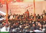 بالصور/ مراسم أربعينية شهداء المقاومة في ولاية سند الباكستانية
