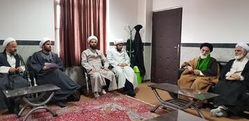 مدیر حوزه علمیه همدان از مدرسه علی بن ابیطالب(ع) ملایر بازدید کرد