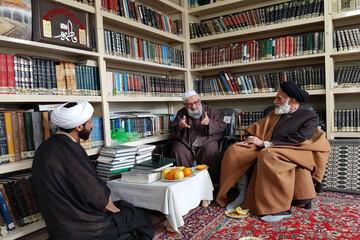 تصاویر/ دیدار مدیر حوزه علمیه استان همدان با علمای ملایر