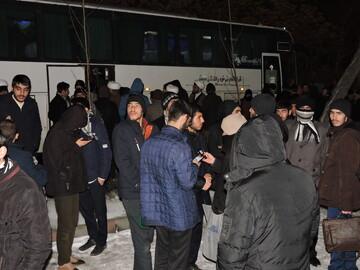 تصاویر/ اعزام طلاب حوزه علمیه تبریز برای دیدار با رهبر معظم انقلاب