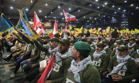 مراسم اربعین شهدای مقاومت در شهر صور لبنان