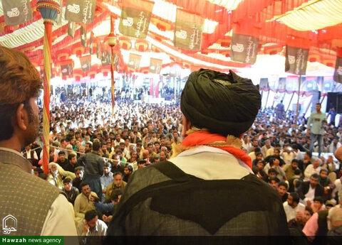 بالصور/ مراسم أربعينة شهداء المقاومة في ولاية سند الباكستانية