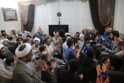 تصاویر / جشن میلاد حضرت زهرا (س) در هیئت طلاب اردکانی های مقیم قم