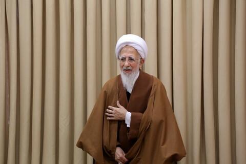دیدار دبیر شورای عالی حوزههای علمیه با آیت الله العظمی جوادی آملی