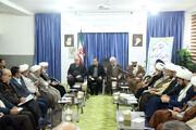 تصاویر/ پنجاه و چهارمین گردهمایی ائمه جمعه خراسان شمالی