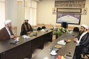 نشست رئیس عقیدتی نزاجا با معاون روابط عمومی حوزه خواهران