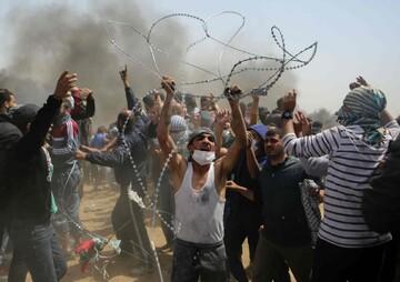 اقامه گروهی نماز صبح، شیوه جدید فلسطینیان در مخالفت با معامله قرن
