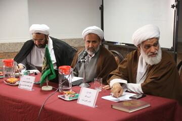 """بالصور/ ندوة تخصصية تحت عنوان """"نواقض الإسلام والمفاهيم الرئيسة ذات الصلة"""" في مركز دراسات التقريب بين المذاهب الإسلامية بقم المقدسة"""