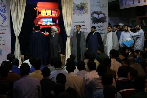 تصاویر/ مراسم عمامه گذاری طلاب مدرسه علمیه دارالسلام تهران