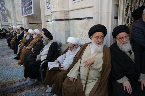 تصاویر / مراسم بیست و هفتمین سالگرد ارتحال مرجع عالیقدر آیت الله العظمی محمدرضا گلپایگانی