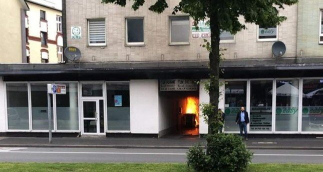 German arsonist sentenced to jail time over mosque attack