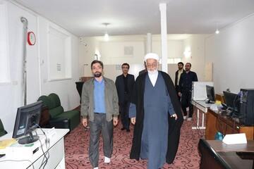 رئیس پژوهشگاه حوزه و دانشگاه از پروژه دفتر تسهیلگری  محله امین آباد قم بازدید کرد
