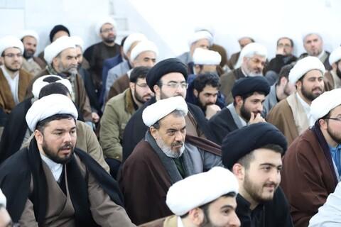 تصاویر / دیدار طلاب و روحانیون مرند و جلفا مقیم قم با نماینده ولی فقیه در آذربایجان شرقی
