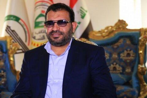 فالح الخزعلی نماینده ائتلاف فتح عراق