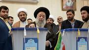 آیتالله موسوی جزایری در انتخابات مجلس یازدهم شرکت کرد