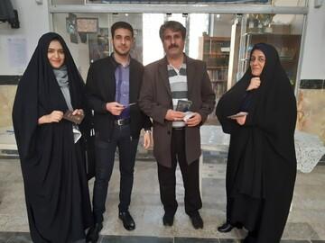 تصاویر/ حضور پرشور مردم آران و بیدگل درپای صندوق  های رأی