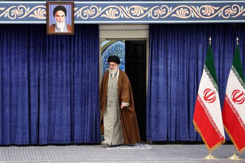 تصاویر/ حضور رهبر انقلاب در انتخابات مجلس شورای اسلامی و مجلس خبرگان رهبری