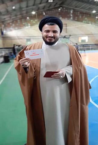 تصاویر /  حضور مسئولان استان همدان در پای صندوق رای