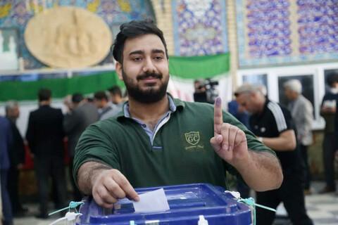 تصاویر/ یادهمین دوره انتخابات مجلس شورای اسلامی در اهواز
