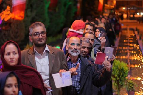 تصاویر/ حضور پرشور مردم بیرجند در پای صندوق های رأی