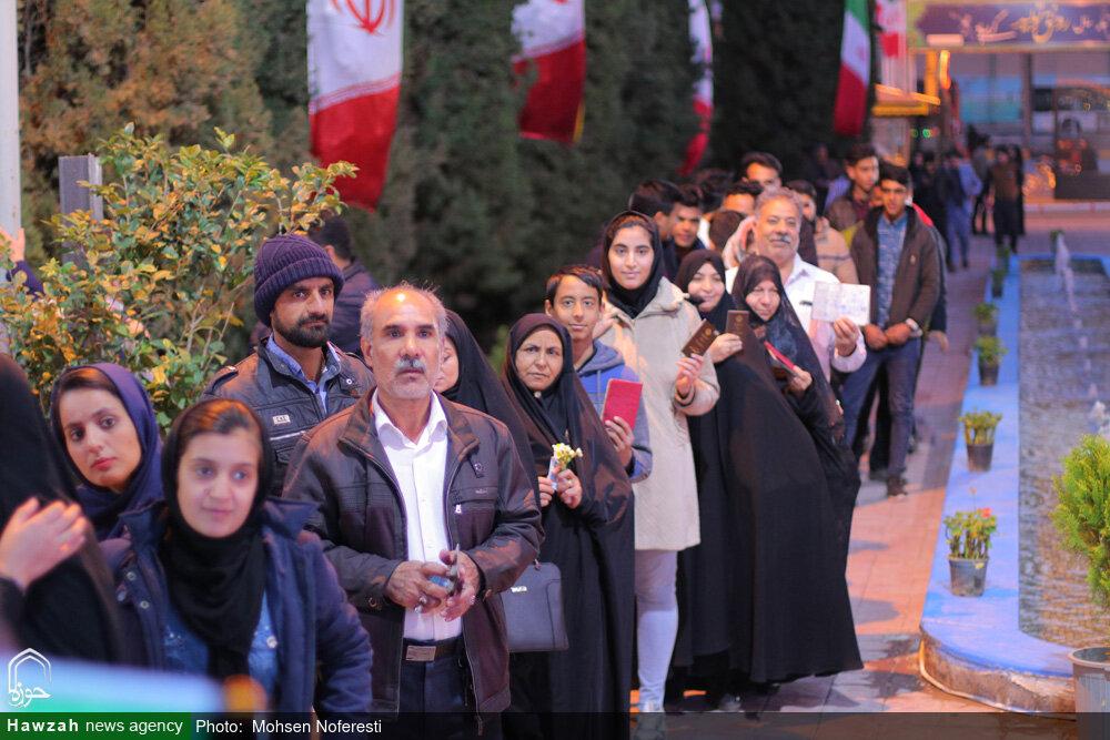 فیلم/ حضور مردم انقلابی بیرجند در انتخابات دوم اسفند