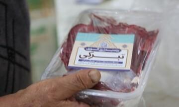 توزیع ۲ تن گوشت بین سیلزدگان به نیت سلامتی امام زمان (ع) در سال ۹۸