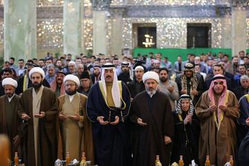 تصاویر/ جشن میلاد امام هادی(ع) در سامرا