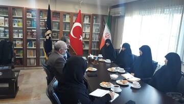 بازدید مدیر و اساتید مجتمع علوم اسلامی کوثر تهران از یک دانشگاه  در ترکیه