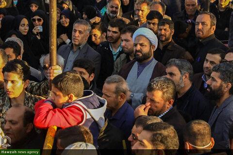 تصاویر مراسم تشییع شهید مدافع حرم در اصفهان