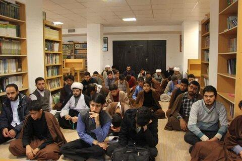 تصاویر/ بازدید و سرکشی از مدرسه علمیه اسلام آباد غرب توسط امام جمعه محترم