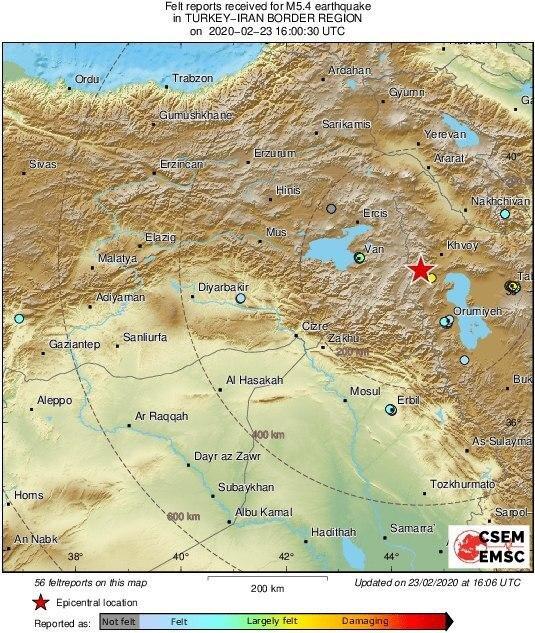 زلزله ۵.۷ ریشتری آذربایجان غربی را لرزاند/ ارسال ٧٧۵ چادر و ۳ هزار پتو به مناطق زلزله زده