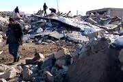 فیلم| شدت تخریب زلزله در روستاهای قطور خوی