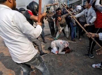 خشم کاربران توییتر از حمله وحشیانه به تظاهرکننده مسلمان در هندوستان