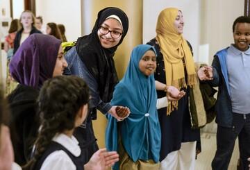 نخستین اجلاس سالانه «روز مسلمان» در ایالت یوتا آمریکا برگزار شد + تصاویر