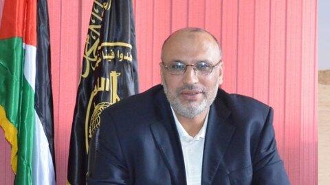 یوسف الحساینه عضو دفتر سیاسی جنبش جهاد اسلامی فلسطین