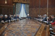 شوراهای گفتگوی ادیان آلمان و سوئیس با شیخ الازهر دیدار کردند
