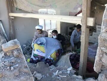 حوزه علمیه خوی مسئول سازماندهی گروه های جهادی مناطق زلزله زده شد