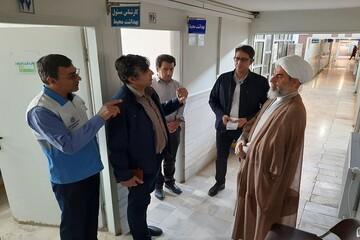 قدردانی امام جمعه بویین زهرا از تلاش پزشکان و پرستاران
