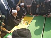 پیکر مدافعین حرم در قم تشییع شدند + تصاویر