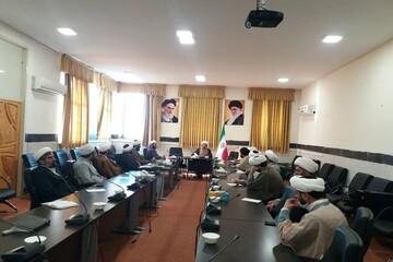 جلسه ستاد مبارزه با بحران «ویروس کرونا» در حوزه علمیه کرمانشاه برگزار شد