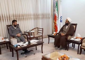 نشست مدیرکل تبلیغات اسلامی خوزستان با استاندار