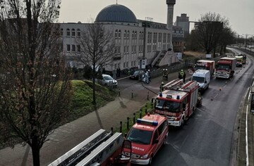 سومین مسجد بزرگ آلمان نامه تهدید آمیز دریافت کرد