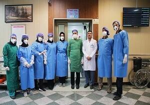 حضور روانشناسان در بیمارستانهای ویژه بیماران کرونایی قم