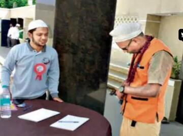 """مسجد تامیا نادو در هند مراسم """"روز درهای باز"""" برگزار کرد"""