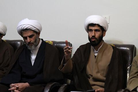 تصاویر / برگزاری جلسه شورای تبلیغ حوزه علمیه استان همدان