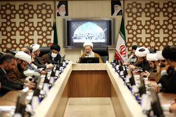 تصاویر/ نشست کمیته رسانه ستاد حوزوی بحران و حوادث غیرمترقبه