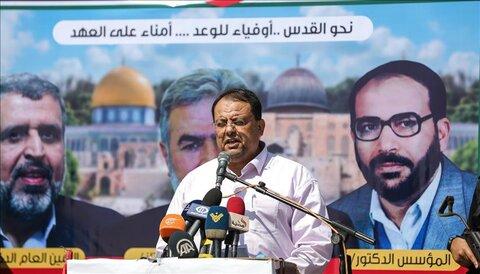 داود شهاب عضو ارشد جنبش جهاد اسلامی فلسطین