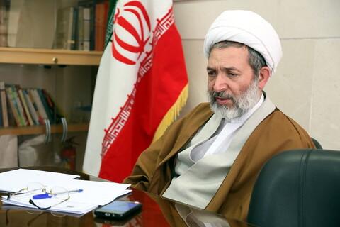 تصاویر گفتگوی خبرگزاری حوزه با حجت الاسلام والمسلمین زمانی